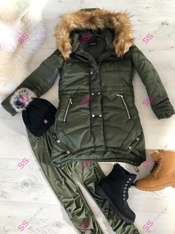 811ede3120 Dámska zimná bunda s kožušinou