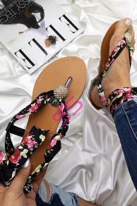 e5942b4edd94 Saténové sandále GENESIS